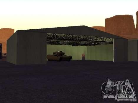 Die Minigun auf dem tank für GTA San Andreas