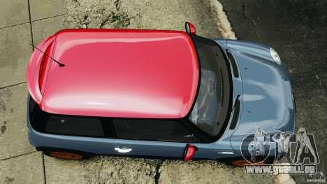 Mini Cooper S v1.3 für GTA 4 rechte Ansicht