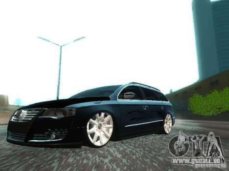 Volkswagen Passat B6 Variant Com Bentley 20 Fixa für GTA San Andreas