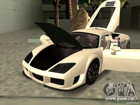 Noble M600 pour GTA San Andreas vue de côté