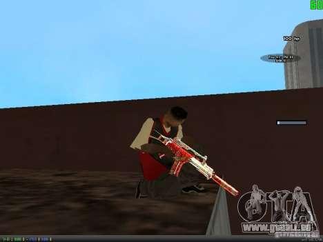 Graffiti Gun Pack pour GTA San Andreas septième écran