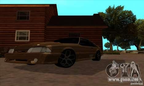 Ford Mustang SVT Cobra 1993 pour GTA San Andreas