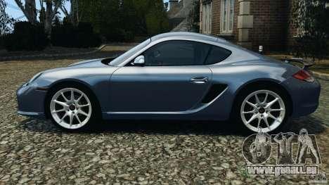 Porsche Cayman R 2012 pour GTA 4 est une gauche