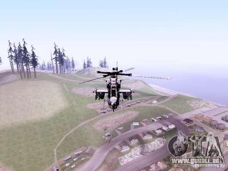 AH-1Z Viper pour GTA San Andreas laissé vue