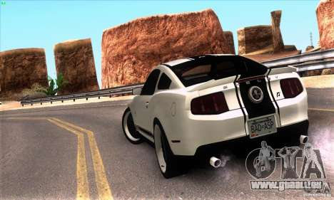 Real HQ Roads pour GTA San Andreas deuxième écran