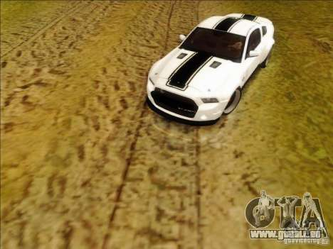 Ford Shelby GT500 SuperSnake NFS The Run Edition pour GTA San Andreas laissé vue