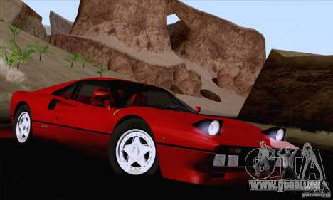 Ferrari 288 GTO 1984 für GTA San Andreas Seitenansicht