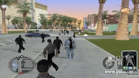 Ultra-modernes HUD für GTA San Andreas zweiten Screenshot