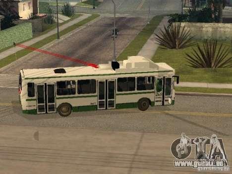 MTrZ 5279 pour GTA San Andreas vue de droite