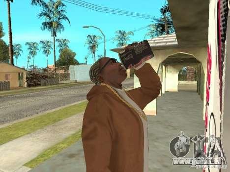 Nouvelles machines pour GTA San Andreas troisième écran