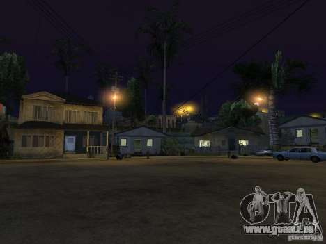 Respawn pour GTA San Andreas troisième écran