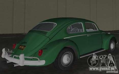Volkswagen Beetle 1963 pour GTA Vice City vue latérale