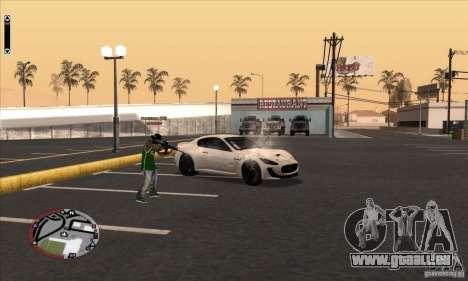GodPlayer v1.0 for SAMP für GTA San Andreas her Screenshot