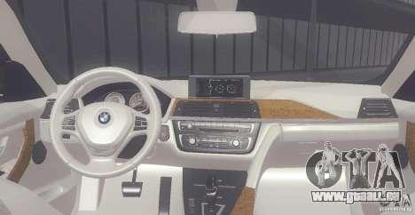 BMW 335i Coupe 2013 pour GTA San Andreas vue de droite