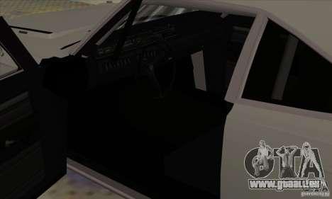 Plymouth Roadrunner pour GTA San Andreas vue arrière