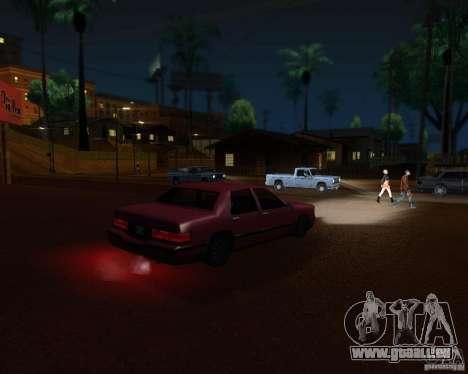 ENBSeries pour moyen- et haute puissance PC pour GTA San Andreas troisième écran