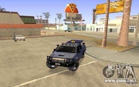 Toyota Hilux Rally Version für GTA San Andreas linke Ansicht
