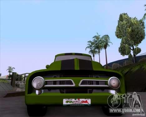 Ford FR-100 2003 pour GTA San Andreas vue arrière