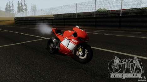 Ducati Desmosedici RR für GTA San Andreas