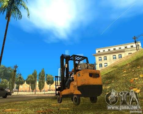 Chargeur de la COD MW 2 pour GTA San Andreas laissé vue