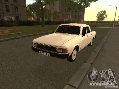 Volga GAZ 31013 pour GTA San Andreas