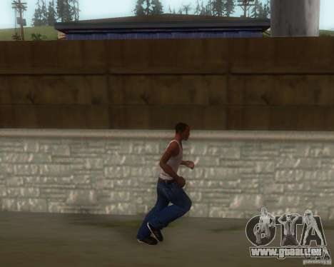 GTA IV Animations v1.1 pour GTA San Andreas troisième écran