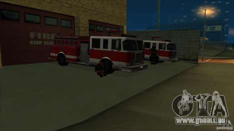 Revival Fire station in San Fierro V 2.0 Final für GTA San Andreas zweiten Screenshot