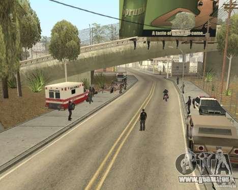 Scène du crime (scène de Crime) pour GTA San Andreas deuxième écran
