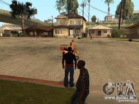 CJ affamé v. 3 final pour GTA San Andreas