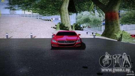 Mercedes Benz CLS 350 2011 pour GTA San Andreas vue de droite