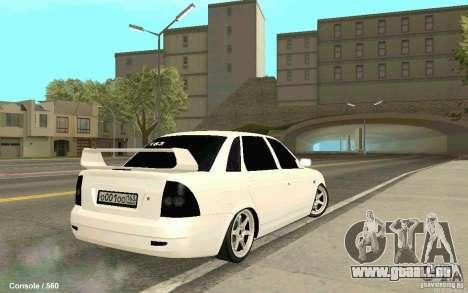 Lada Priora für GTA San Andreas linke Ansicht