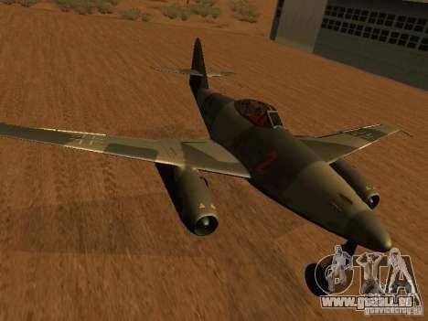 Messerschmitt Me262 für GTA San Andreas