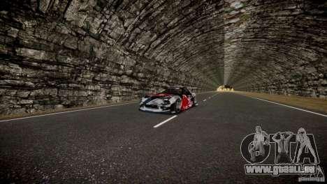 MAZDA RX-7 Mad Mike 2 pour GTA 4 est une vue de dessous