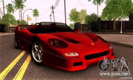 Ferrari F50 Spider pour GTA San Andreas laissé vue