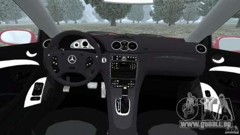 Mercedes-Benz CLK 63 AMG für GTA 4 Rückansicht