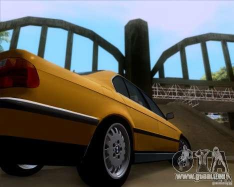BMW 730i E38 1996 Taxi pour GTA San Andreas vue intérieure