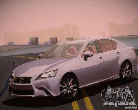 Lexus GS 350 F Sport Series IV pour GTA San Andreas