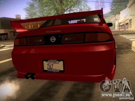 Nissan Silvia S14 Ks Sporty 1994 pour GTA San Andreas laissé vue