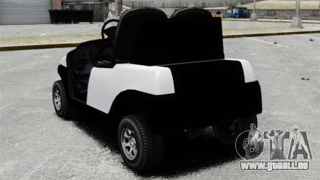 Caddy Unity pour GTA 4 Vue arrière de la gauche