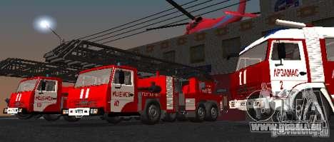 KAMAZ 53229 pour GTA San Andreas vue de droite