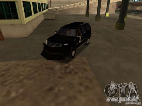 Cadillac Escalade Tallahassee für GTA San Andreas Innenansicht