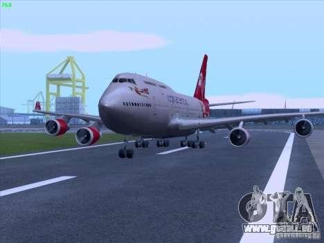 Boeing 747-4Q8 Lady Penelope für GTA San Andreas rechten Ansicht
