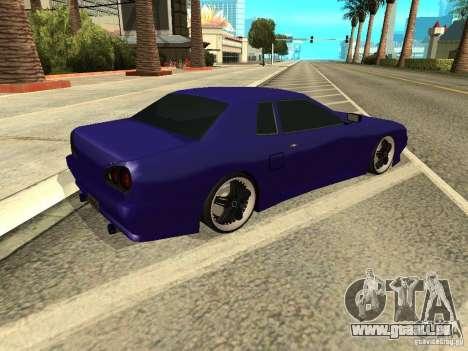 Elegy by W1nston4iK pour GTA San Andreas sur la vue arrière gauche