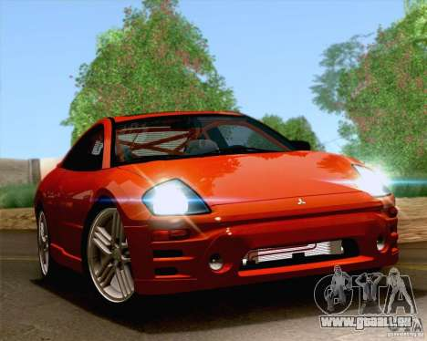 Mitsubishi Eclipse GTS 2003 für GTA San Andreas Innenansicht