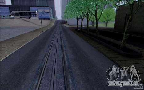 Route de HD v3.0 pour GTA San Andreas quatrième écran