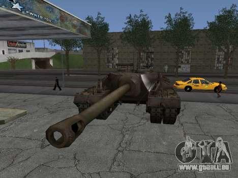 PT-SAU T95 pour GTA San Andreas vue de droite