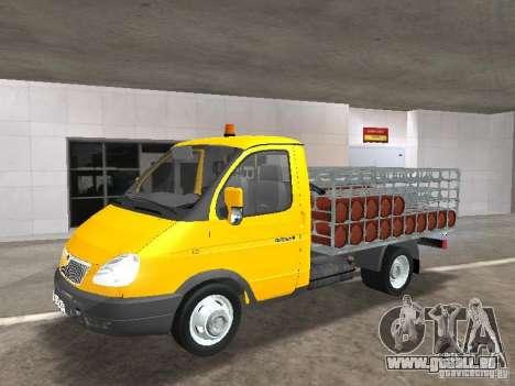 GAZ 3302 Balonovoz für GTA San Andreas