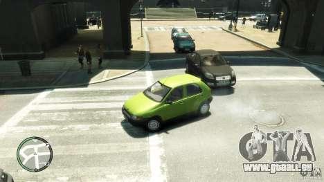 Fiat Palio pour GTA 4 Vue arrière de la gauche