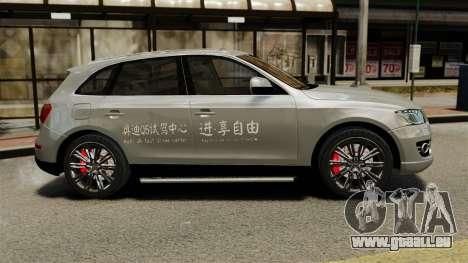 Audi Q5 Chinese Version für GTA 4 linke Ansicht