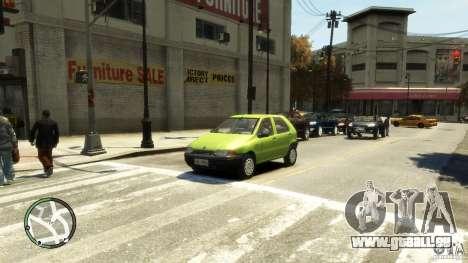 Fiat Palio pour GTA 4